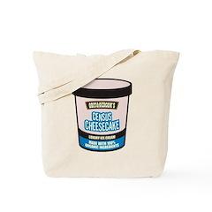 Census Cheesecake Tote Bag