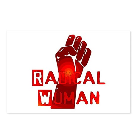 Radical Woman Postcards (Package of 8)