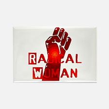 Radical Woman Rectangle Magnet