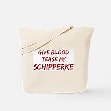 Tease aSchipperke Tote Bag