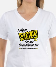 I Wear Gold For My Granddaughter 8 Shirt