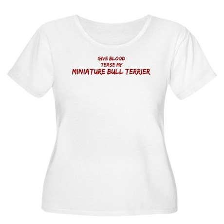 Tease aMiniature Bull Terrier Women's Plus Size Sc