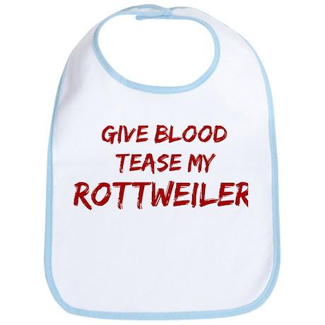 Tease aRottweiler Bib
