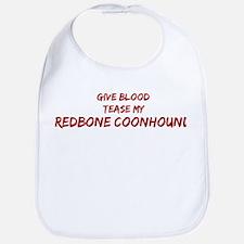 Tease aRedbone Coonhound Bib