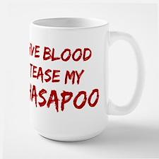 Tease aLhasapoo Large Mug