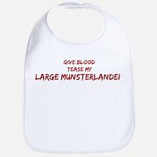Tease aLarge Munsterlander Bib
