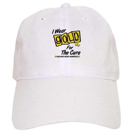 I Wear Gold For The Cure 8 Cap