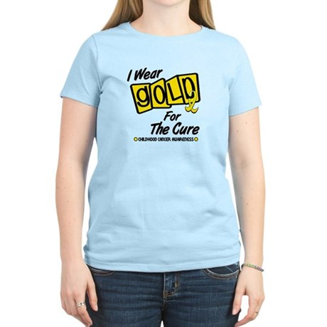 I Wear Gold For The Cure 8 Women's Light T-Shirt
