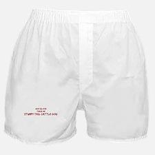 Tease aStumpy Tail Cattle Dog Boxer Shorts