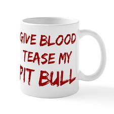 Tease aPit Bull Mug