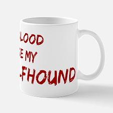 Tease aIrish Wolfhound Small Small Mug