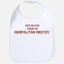 Tease aNeapolitan Mastiff Bib
