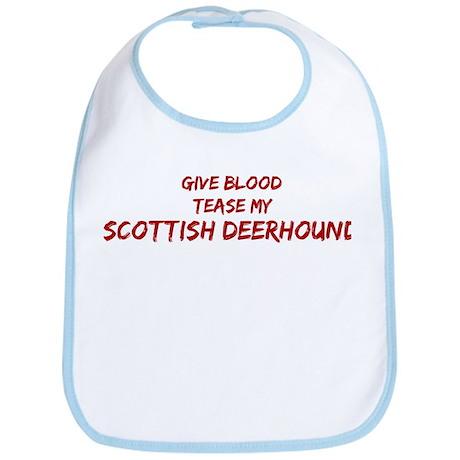 Tease aScottish Deerhound Bib