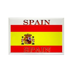 Spain Spanish Flag Rectangle Magnet (10 pack)