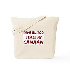 Tease aCanaan Tote Bag