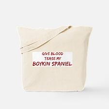 Tease aBoykin Spaniel Tote Bag