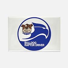 Cute Bulldogs Rectangle Magnet (100 pack)