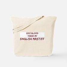 Tease aEnglish Mastiff Tote Bag