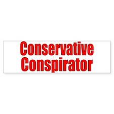 Conspirator Bumper Bumper Sticker