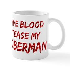Tease aDoberman Mug