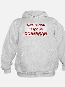 Tease aDoberman Hoodie