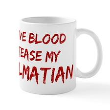 Tease aDalmatian Small Mugs
