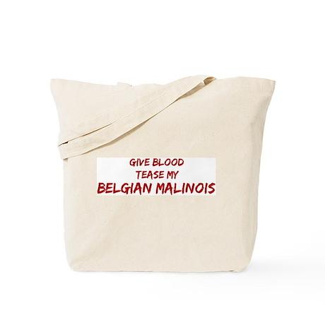 Tease aBelgian Malinois Tote Bag