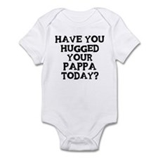 Hugged Your Pappa Infant Bodysuit