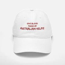 Tease aAustralian Kelpie Baseball Baseball Cap
