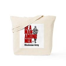 Rhodesian Recruiting Poster Tote Bag