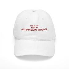 Tease aChesapeake Bay Retriev Baseball Cap