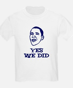 Obama - Yes We Did T-Shirt