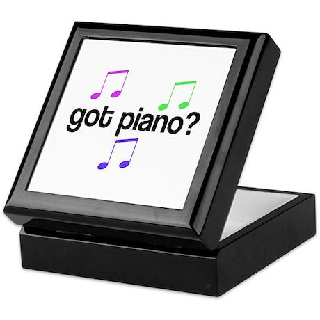 Got Piano Keepsake Box