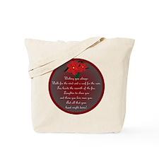 Irish Christmas Blessing Tote Bag