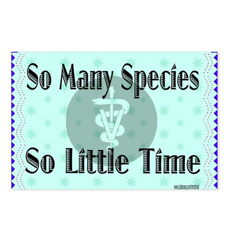 So Many Species Postcards (Package of 8)