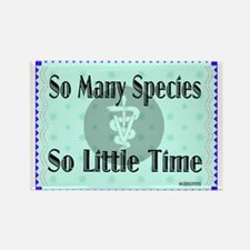 So Many Species Rectangle Magnet