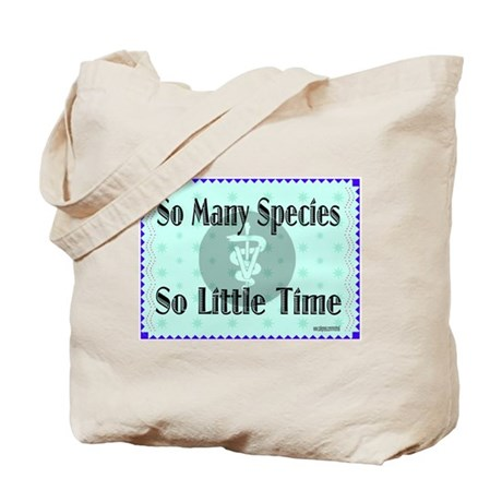 So Many Species Tote Bag