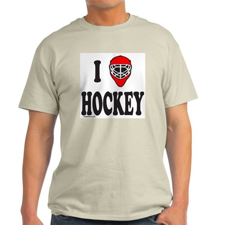 I LOVE HOCKEY Light T-Shirt