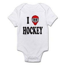 I LOVE HOCKEY Infant Bodysuit