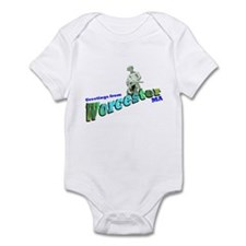 Turtleboy of Worcester Infant Bodysuit