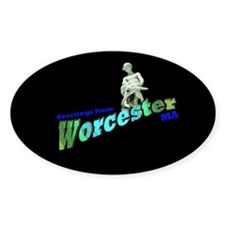 Turtleboy of Worcester Oval Decal