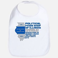 Illinois Political Pawn Shop Bib