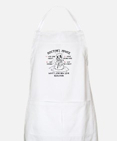 Doctor's Advice BBQ Apron
