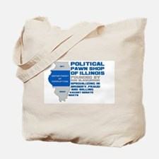 Illinois Political Pawn Shop Tote Bag