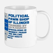 Illinois Political Pawn Shop Mug