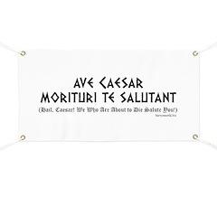 Ave Caesar Banner