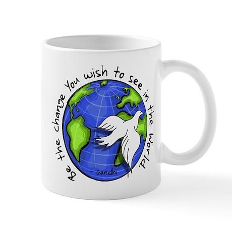World Peace Gandhi - Funky St Mug