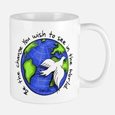 World Peace Gandhi - Funky St Mug