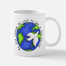 World Peace Gandhi - 2008 Mug
