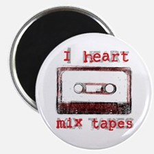 I Heart Mix Tapes Magnet